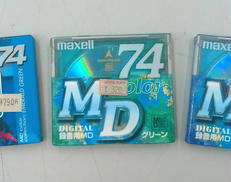 【未開封品】MDメディア(バラ3枚)|SONY / MAXELL