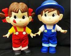 ペコちゃん・ポコちゃん人形|不二家