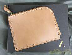 ナチューラ ヌメ革Lファスナー 小銭入れ コインケース 土屋鞄製造所