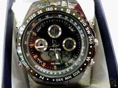 クォーツ・アナログ腕時計 ALPS