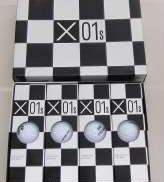 ツアーステージ X-01S ゴルフボール 1ダース(12個)|BRIDGESTONE GOLF