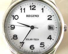 クォーツ・アナログ腕時計 REGUNO