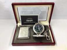 ZIPPOオイルライター&懐中時計セット|ZIPPO