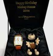 自動巻き|ミッキーマウ2004バースデー 腕時計