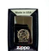 【未使用品】限定版 エヴァンゲリオン25周年記念 ジッポー シリアルナンバー入り|ZIPPO