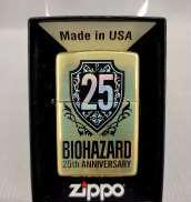 【未使用品】バイオハザード 25周年 ZIPPO ホログラム加工|ZIPPO