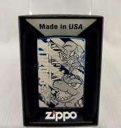 【未使用品】ZIPPO ゴジラVSエヴァンゲリオン デフォルメver|ZIPPO