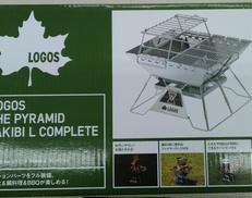 THE ピラミッド TAKIBI L コンプリート|LOGOS