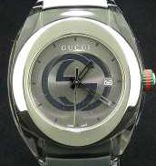 シンク デイト 腕時計 クオーツ|GUCCI