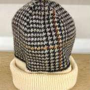 千鳥格子ニット帽|VIVIENNE WESTWOOD