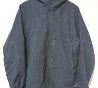 フード付ウールジャケット SHIPS JET BLUE