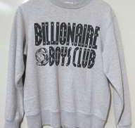 ロゴトレーナー BILLIONAIRE BOYS CLUB