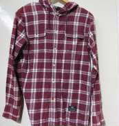 フードチェックシャツ 55DSL