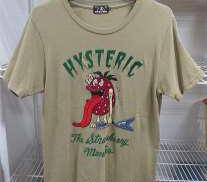 刺繍デザインTシャツ HYSTERIC GRAMOUR