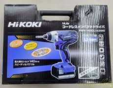 未使用品 14.4V コードレスインパクトドライバ|HIKOKI