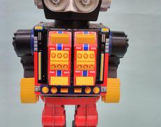 ブリキロボット 堀川玩具