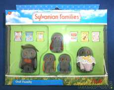 シルバニア 海外版 OWL FAMILY|エポック社