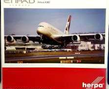 A380-800 エティハド航空 HERPA