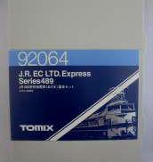 JR489系 特急電車(あさま)基本セット|TOMIX