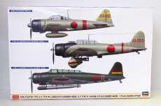 零戦二一型&九九艦爆一一型&九七式三号艦攻 真珠湾攻撃隊|HASEGAWA