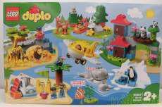 レゴ 10907 デュプロ 世界のどうぶつ 世界一周探検|LEGO