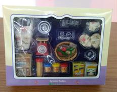 シルバニアファミリー 調理器具セット カー65 エポック社