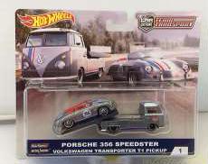 ポルシェ356スピードスター&フォルクスワーゲントランスポー HOT WHEELS