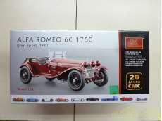 1/18 アルファ・ロメオ 6C  1750 管理No.3148 CMC