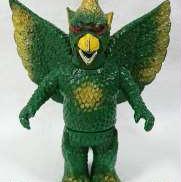日東 大巨獣 ガッパ ソフビ 緑成型|NITTO