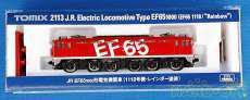 JR EF65-1000形電気機関車(1118号・レインボー|TOMIX