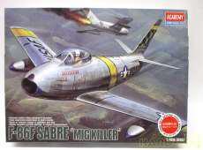 """F-86F SABRE """"MIG KILLER"""" ACADEMY SNOWBOARD"""