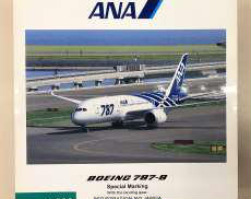 1/200 BOEING 787-8 JA802A特別塗装機|ANA