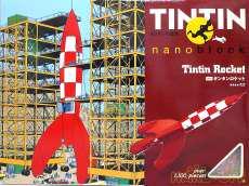 ナノブロック TIN-1 タンタンロケット|KAWADA