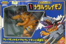超進化シリーズ No.1 メタルグレイモン|BANDAI