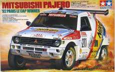 1/24 三菱 パジェロ '92年パリ~ル・カップ優勝車 TAMIYA